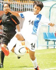 Bhagyashree Dalvi in action